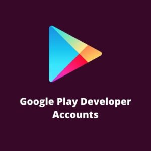 buy Google Play Developer Accounts
