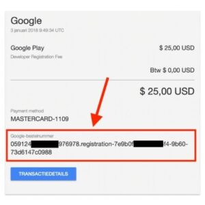 Google Play Developer Accounts
